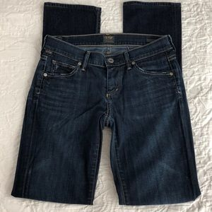 Ava Low Straight Leg Citizens of Humanity Jeans